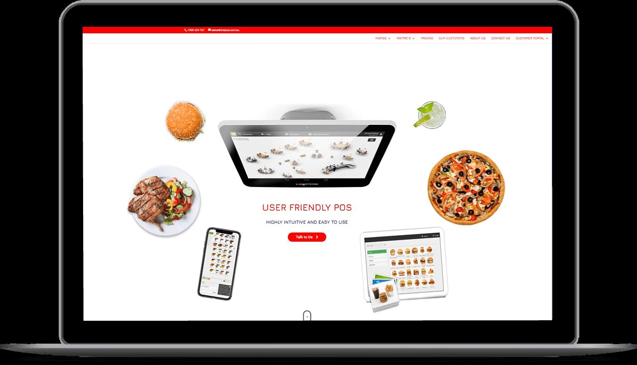 CHSPOS webdesign
